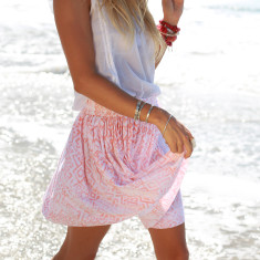 Willow Sasak Skirt – Coral