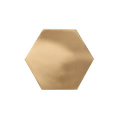 Brass Hexagon Coasters (Set of 4)
