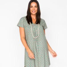 Abigail fan grey dress