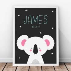 Personalised Koala Kids' Print