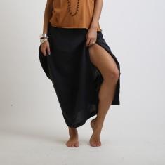 Ergo linen deconstructed skirt