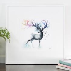Forest spirit print