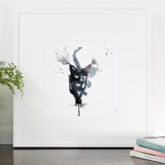 Don James's cat print