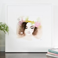 Queen of the day print