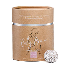 Baby Brain Chocolate Bliss Balls For Pregnant Mums