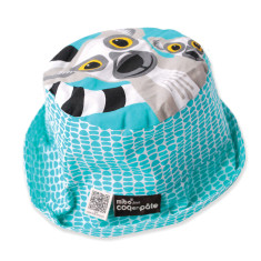 Lemur kids' sun hat