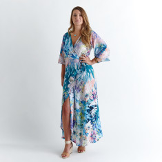 Wrap dress - Hybiscus