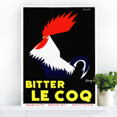 Bitter Le Coq | Canvas Art