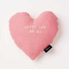 Heart Shape Never Let Me Go Cushion