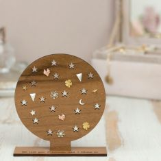 Personalised constellation earring stand