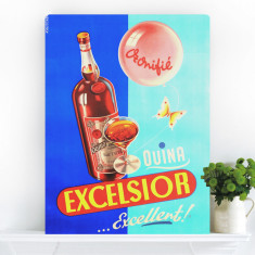 Drink Excelsior | Canvas Art