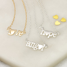 Love Bonds necklaces