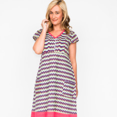 Anna chevron dress