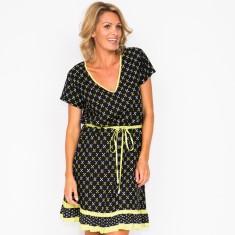 Cara cross black dress