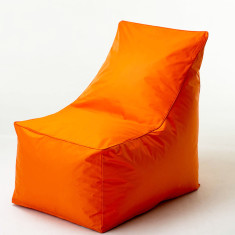 Glammsofa beanbag chair cover in orange