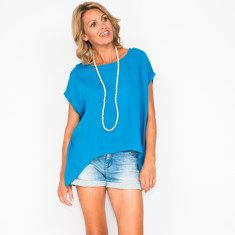 Jess blue top