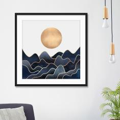 Waves by Elisabeth Fredriksson Art Print