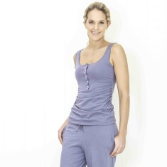 Organic sleep & lounge pant in evening sky