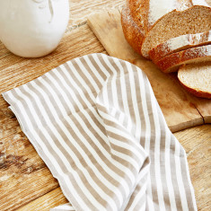 Linen tea towel set