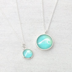 Ocean Wave Necklace