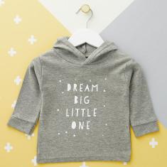 Dream Big Little One Baby Hoodie