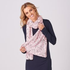 Limited Edition Merino Scarf - Glenwood Summer Plum/Blush