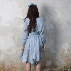 Sissy Dress in Ocean Blue