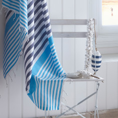 Breeze Stripe Turkish Hammam Towel