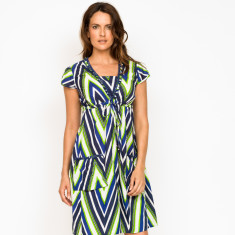 Amber Chevron Dress