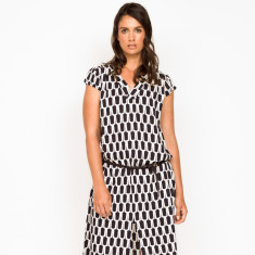 Marta Hexagon Dress