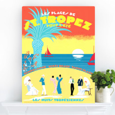 St Tropez | Canvas Art