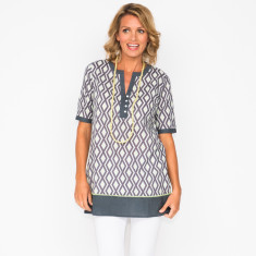 Emma diamond grey tunic