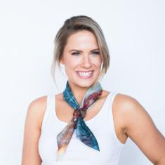Seasons square scarf