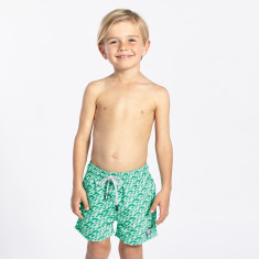 Green waves swim shorts
