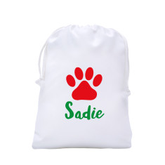 Pet Santa Sack - Santa Paws