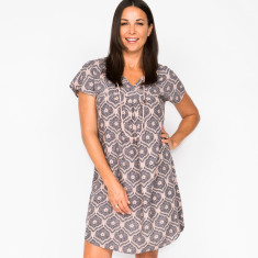 Abigail filigree grey dress