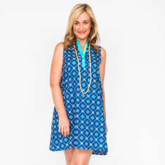 Katy fleur navy dress