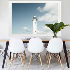 Lighthouse Blues   Framed Art