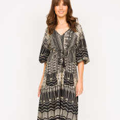 Allanah linear dress (various linear prints)