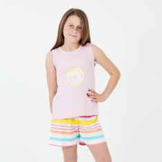 Girls' Izzy rise & shine PJ's