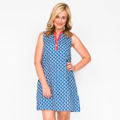Katy leaf navy dress