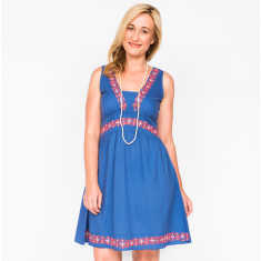 Freya plain dress (various colours)