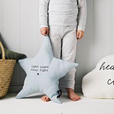 Star shaped Night Night, Sleep Tight Cushion