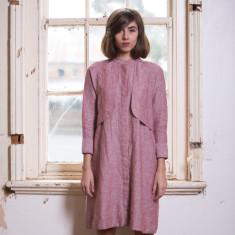 Holly Dress in Rosette