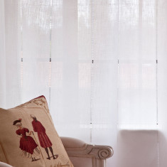 La Parisienne linen curtains