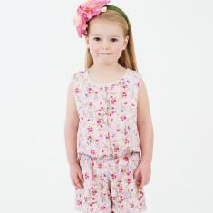 Girls' Phoebe blossom jumpsuit