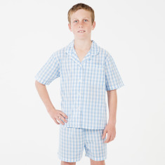 Charlie Classic Gingham PJ's