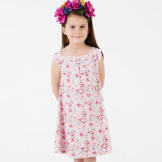 Girls' Jess blossom nightie in pink
