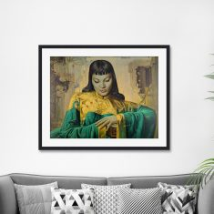 Lady Of The Orient by Vladimir Tretchikoff Vintage Art Print