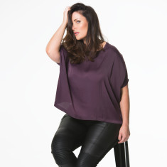 Plus Size Kiki Top - Purple